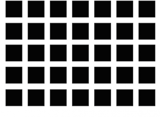 optical illusion grey ghost dots
